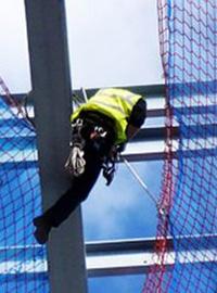 Instalación de redes de seguridad