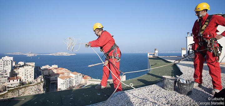 Técnicos de acceso mediante cuerdas