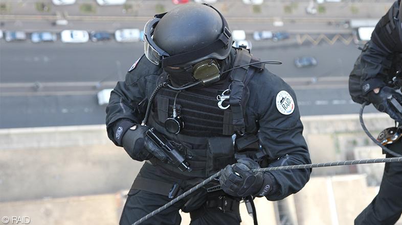 Policía RAID